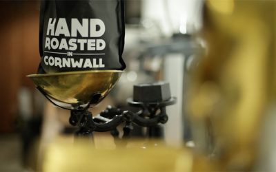 Handroasted in cornwall