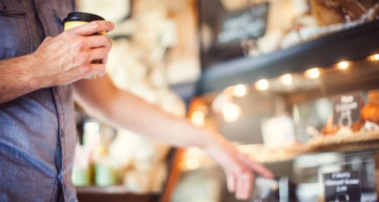 Kaffeløsning til caféer