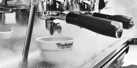 Espresso fra Freehand Coffee Roasters