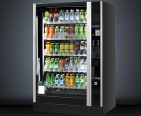 SandenVendo G-Drink automat til drikkevarer i flasker og dåser
