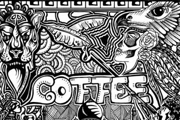 Freehand kaffe