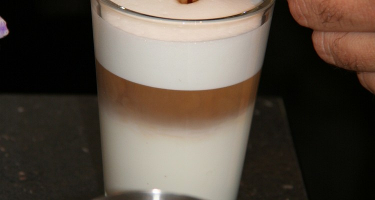 Latte macchiato på jobben
