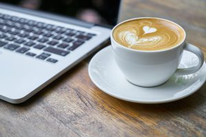 Kaffemaskin på kontoret